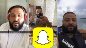 dj khaled snap
