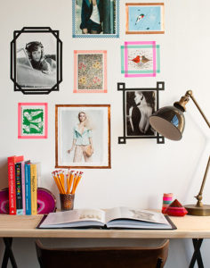 dorm room deco frame your posters