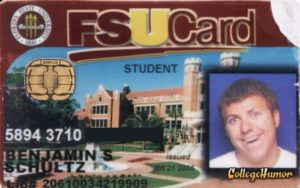 student card funny