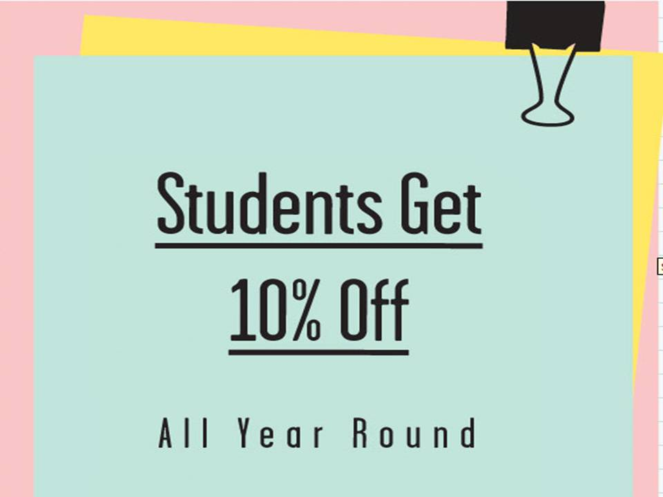 articles student discounts guide
