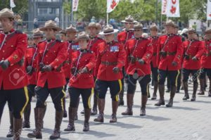 6885614-Military-parade-for-Canada-Day-in-Old-Port-of-Montreal-Quebec-Canada-July-1st-2009-Stock-Photo