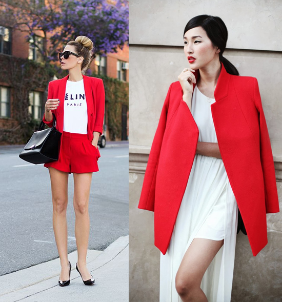 Red And White Outfits | St Cathys Blog