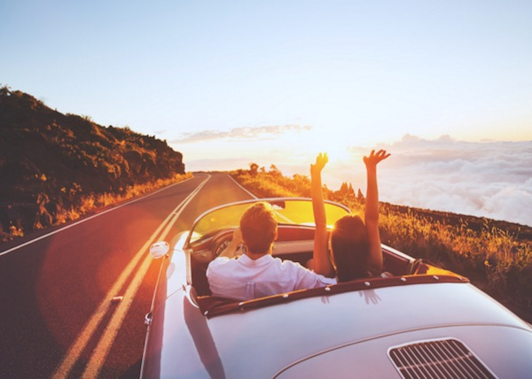 joyride-happy-couple-adventure-roadtrip-wanderlust-open-road-convertable-car-highway-love-adventure